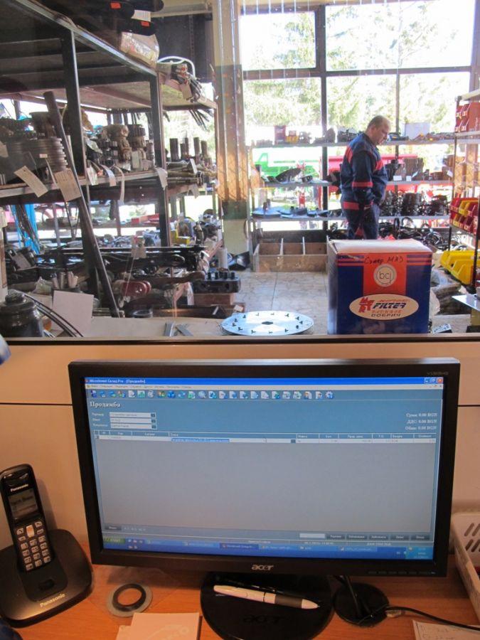 Програма за автоматизация на магазин, авточасти, земеделска техника, инвентар - Велико Търново